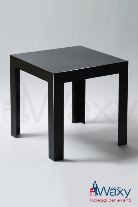 tavolo kartell 40x40 h 40 cm mod. Jolly in policarb. coprente nero